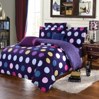 designer bedding collections polka dot sheets modern ...