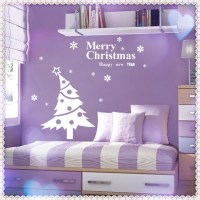 Hot!! Snowflake Christmas decor tree living room bedroom