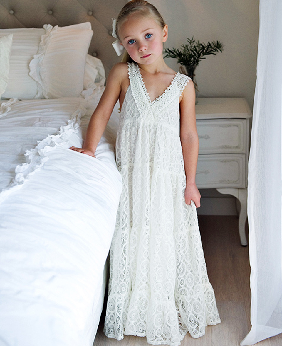 flower girl dress wedding dresses evening dress wholesale in guangzhou flower girl wedding dresses Product Image