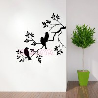 Nature Birds and Branch Vinyl Wall Sticker Wall Decal ...