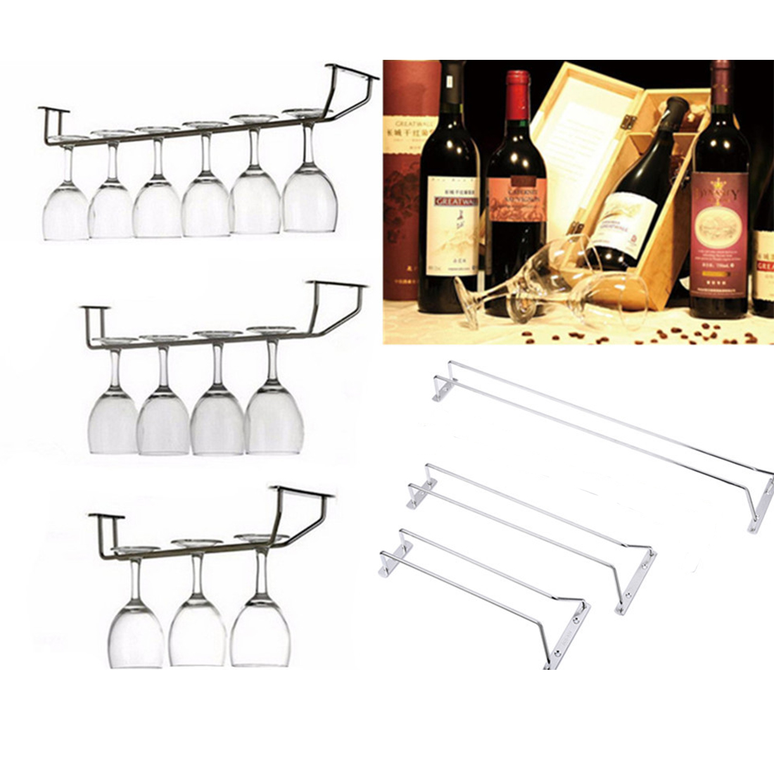 Countertop Wine Glass Rack Countertop Wine Racks Promotion Shop For Promotional