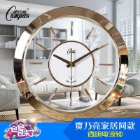 intelligent transparent clock fashion wall clocks creative ...