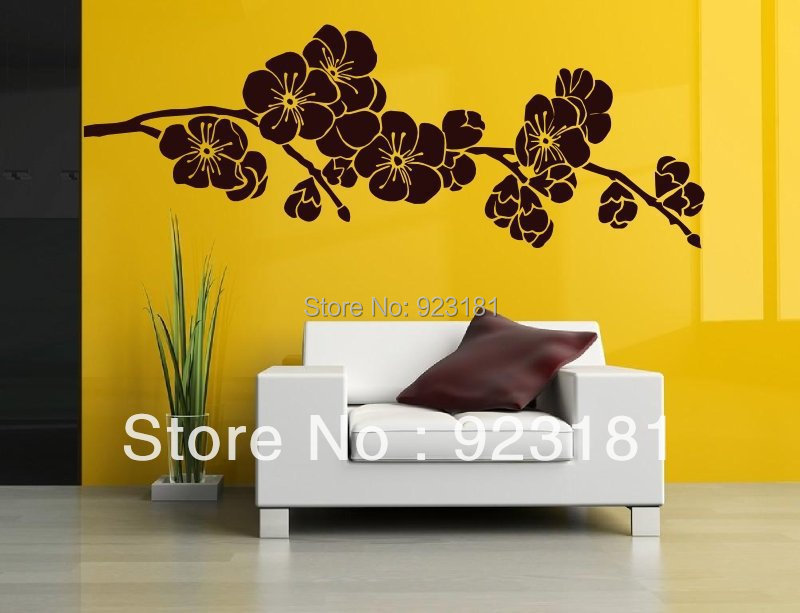 japanese cherry blossom wall art stickers decal home diy decoration details wall art sticker decal vinyl japanese oriental tree