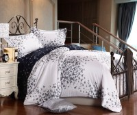 Luxury egyptian cotton butterfly bedding sets queen size ...