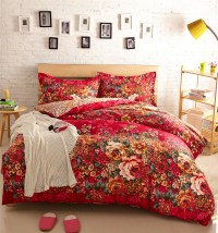 Red Floral Bedding 28 Images Bedspreads Coverlets