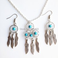 Jewelry Set Necklace and Earring Set Dream Catcher ...