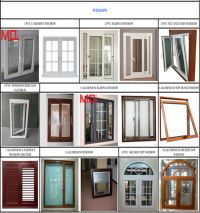 french good quality aluminum casement doors grill design
