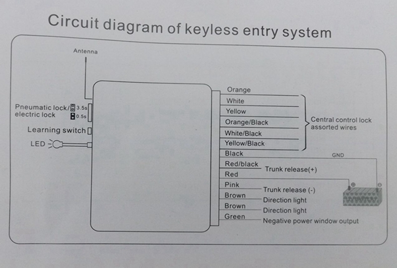 mk2 golf central locking wiring diagram