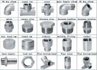 Stainless Steel Pipe Fittings Bsp Threaded 1/2 Inch Lock ...