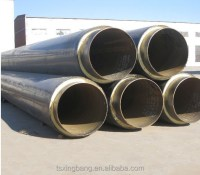Polyurethane Chilled Water And Gas Steel Pipe Insulation ...