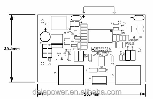printed circuit board 104040 series
