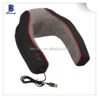 Handheld Usb Heating And Vibrating Neck Pillow Massager ...