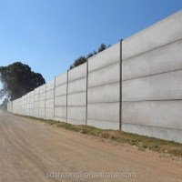 Precast Concrete Fencing/cement Board Wall For Prefab