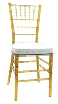 Factory Direct Elegant Transparent Chiavari Chair Crystal ...
