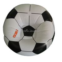 Comfortable Football Design Relax Inflatable Soccer Sofa ...