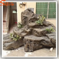 Realistic decoration waterfall wall fountains statue ...