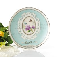 Round Shaped Nice Quality Ceramic Dinner Plates And Dishes ...