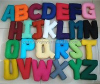 Hot Sale Stuffed Letter Toy Letter Shaped Pillow - Buy ...