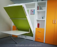 wall bed murphy bed ,folding wall bed,hidden wall bed with ...