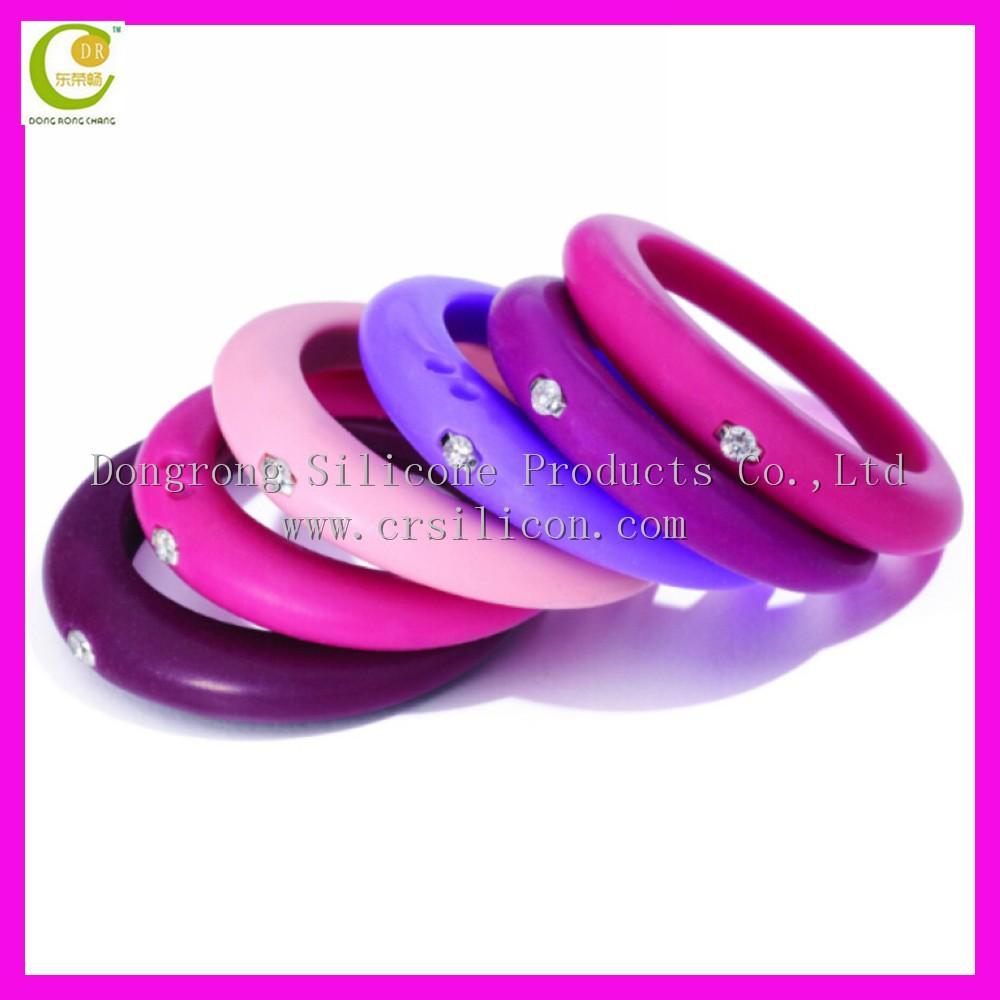 silicone wedding ring silicone wedding ring Silicone Wedding Ring With Diamond For Women Buy Silicone Wedding