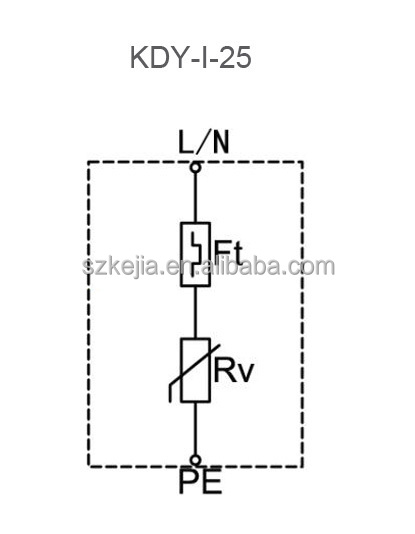 surge protective device wiring diagram
