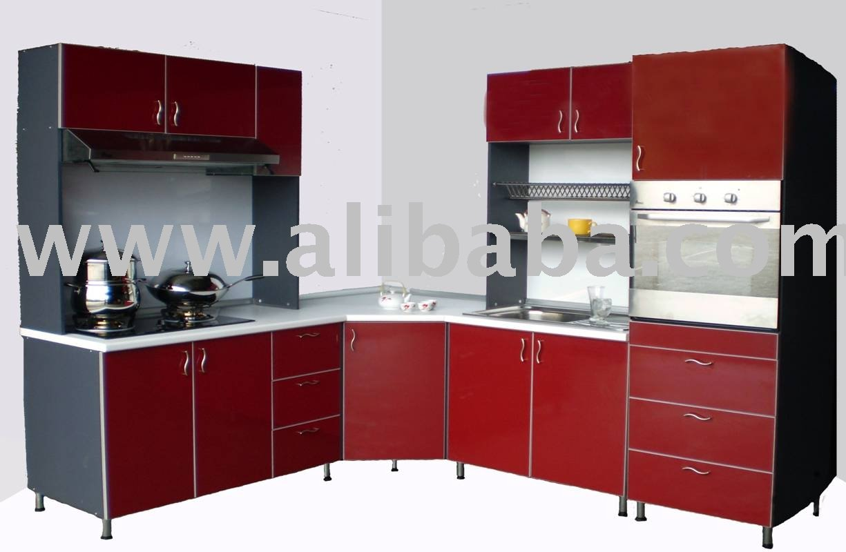 Maroon Set Kitchen Cabinet Buy Kitchen Cabinet Product
