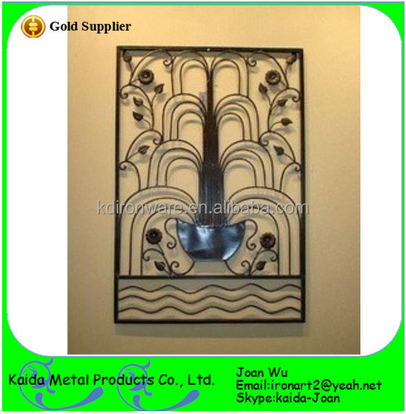 Decorative french wrought iron outdoor window grills