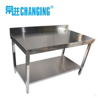 Stainless Work Bench. Stainless Steel Kitchen Table Hotel ...