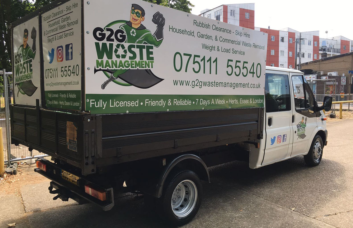 Epping Garden Supplies Commercial Waste Removal G2g Waste Removal Harlow Essex