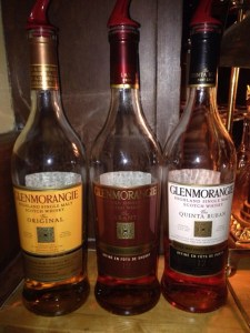 The line up: The Original, The Lasanta, The Quinta Ruban