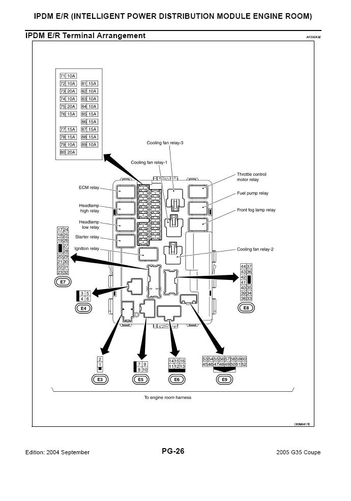 relay diagram 2003 infiniti g35 sedan