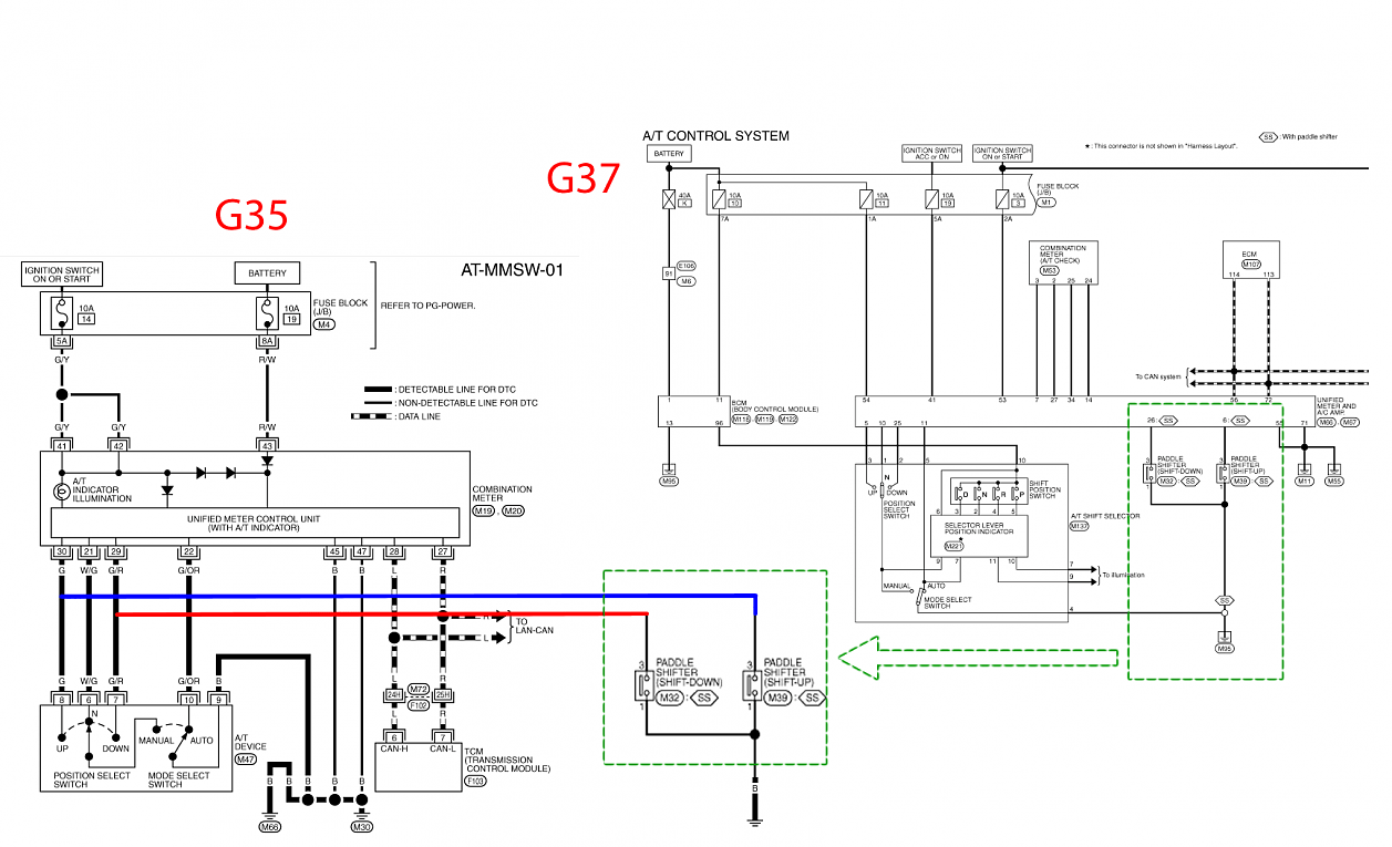 infiniti radio wiring diagrams