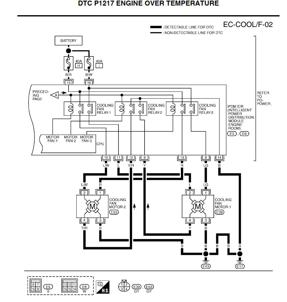 cooling fan wiring harness