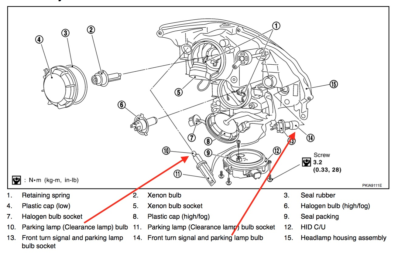 infiniti g35 wiring diagram headlamp