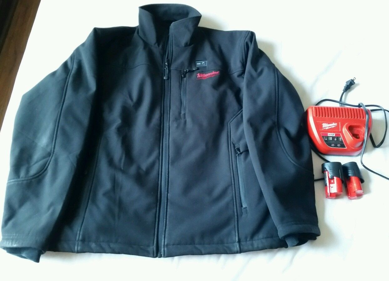 M12 Heated Jacket Fs Milwaukee 2345 L M12 Cordless Black Heated Jacket With