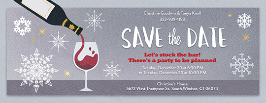 holiday party invitations templates free