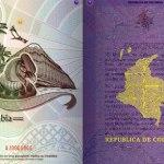 Nuevo Pasaporte Colombia Reacción Luz UV