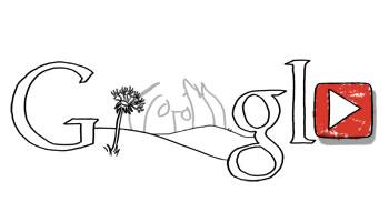 John Lennon Doodle de Google