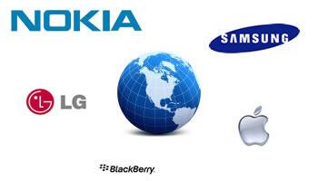 Mercadeo de Fabricantes de Telefono Celulares en el Mundo