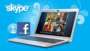 Skype 5 con Facebook Connect