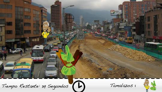 Juego Facebook Alcalde Bogota Samuel Moreno