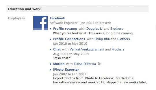 Nuevo perfil Facebook - Listas de Proyectos
