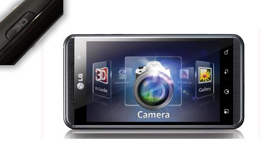 LG Optimus 3D - Telefono 3D