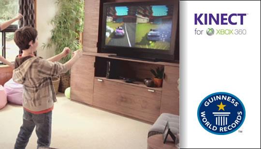 Microsoft Kinect Record Ginness