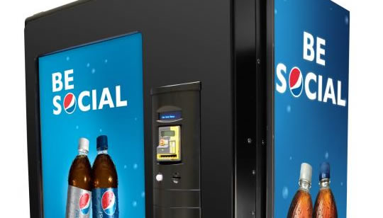 Maquina dispensadora social