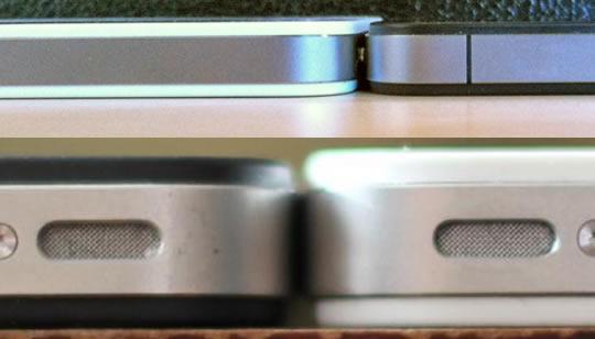 iPhone 4 Blanco mas grueso