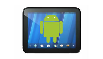HP TouchPad con Android