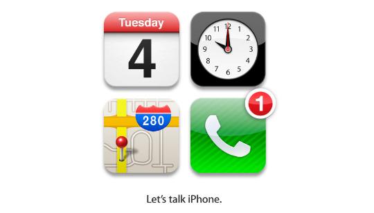 Evento iPhone 5 iPhone 4S - Apple