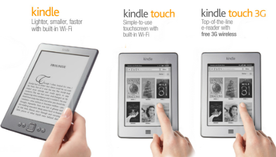 Kindle Kindle Touch Kindle Touch 3G