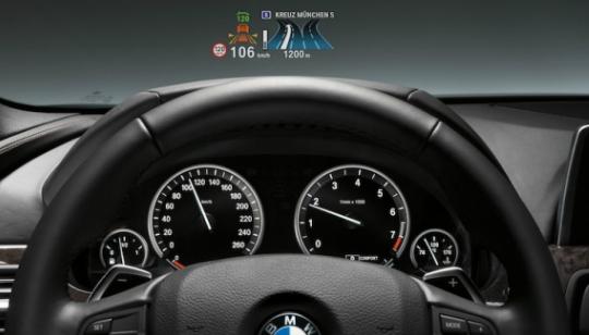 Tecnologia HUD BMW 3 Series